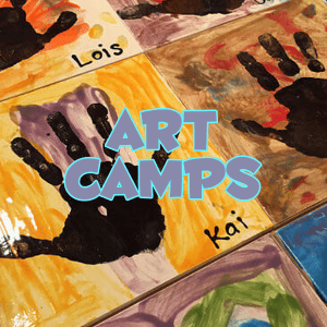 pottery painting studio art camp details