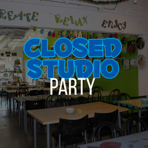 closed studio party