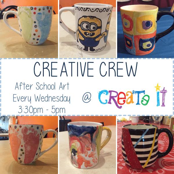 Creative Crew Event