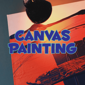 canvas painting studio