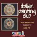 pottery painting class