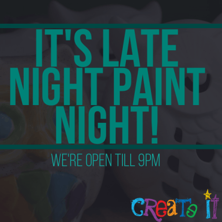 Late Night Paint Night Event