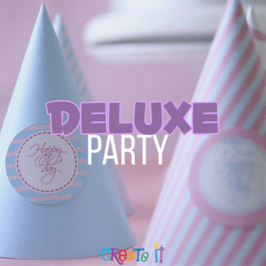 deluxe party package pottery painting studio