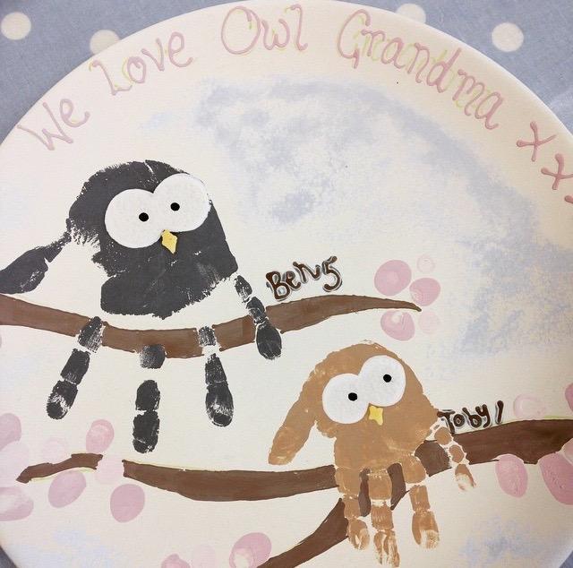 ceramic-handprint-owls
