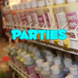 pottery painting studio party package details