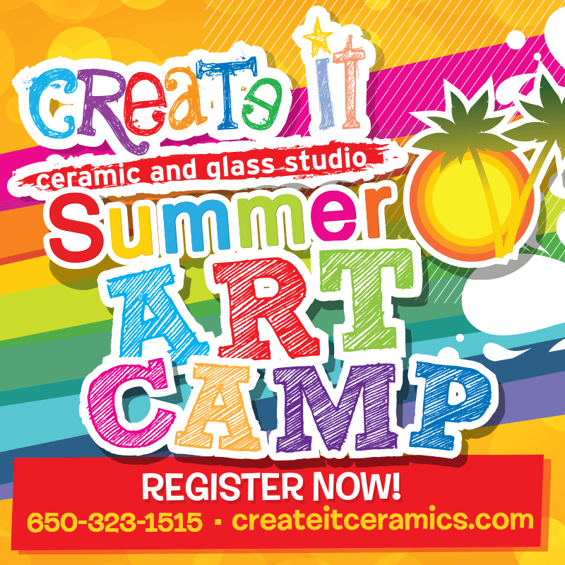 summer art camp registration pottery painting