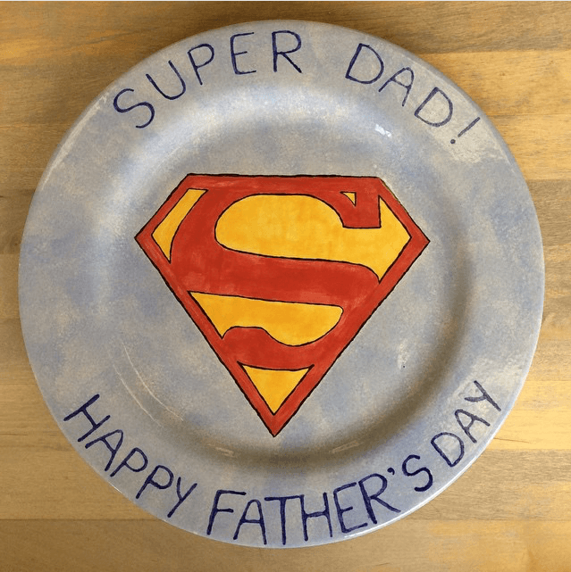 fathers-day-paint-pottery-plate-2